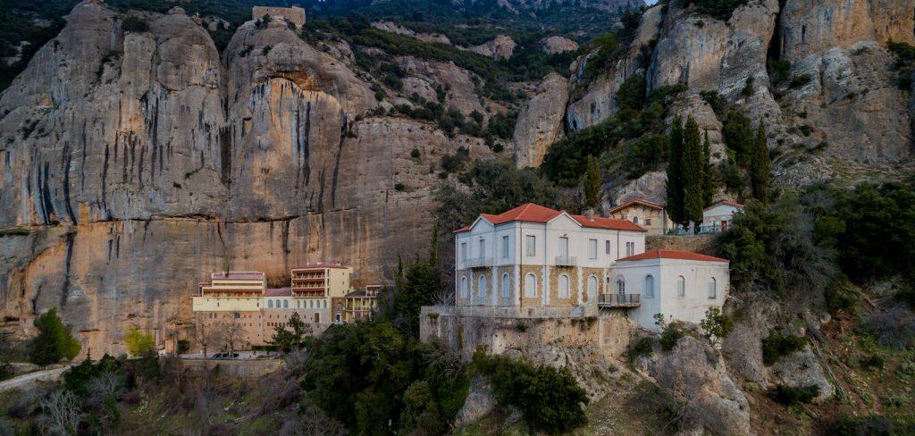 The monastery of Mega Spilaio
